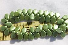 5x7mm Pip Preciosa Czech Glass Beads # 684-P Artichoke Pastel Pearl 50pcs