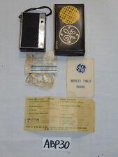 VINTAGE GE GENERAL ELECTRIC TRANSISTOR P2750 RADIO IN BOX RARE & PAPERS