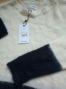 Native Youth Fluffy Oversized Long Sleeve Crew Neck Jumper Size S Small BNWT
