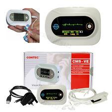 CONTEC portable Visual Digital Stethoscope ECG Waveform,SPO2 PR,FREE Adult probe