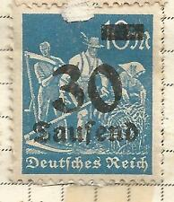 GERMANY /GERMAN REICH ;INFLATION HIGH VALUES 30 TAUSEND MARK