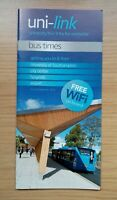 UNILINK BUSES SOUTHAMPTON CITY BUS TIMETABLE & GUIDE - SEPTEMBER 2012 BRAND NEW