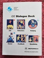 Vintage Motorola IDE Dialogue Deck for personnel reviews
