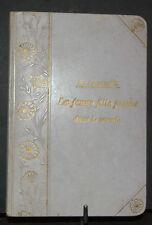 la jeune fille pieuse dans le monde De Lacrousille 1897
