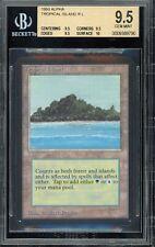 Tropical Island Alpha BGS Quad+ graded LEA MTG Magic 1993