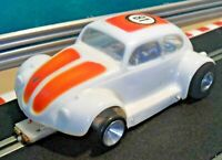 Parma Womp 1:32 Slot Car With VW Volkswagen Beetle Lexan Shell (tested)