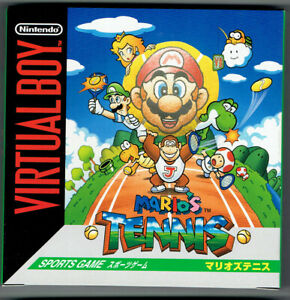 Mario Tennis (Brand New) Nintendo Virtual Boy