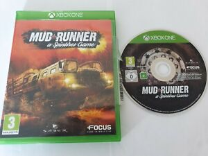 Mud Runner A Spintires Game Microsoft Xbox One Game FREE UK POSTAGE