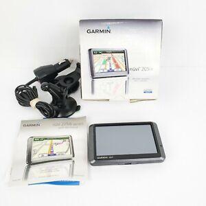 Garmin Nuvi 205w Automotive GPS Satellite Navigation With Box