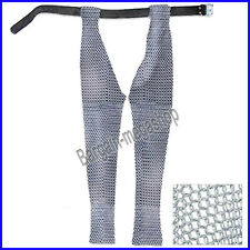 Chain Mail Leggings Butted Chainmail Chausses Large Galvanized hn1