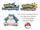 Pokemon Ultra Sun and Moon Tokyo DX Snorlax Japanese Event Pokemon w/ Sunny Day
