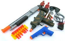 3x Toy Guns! UZI Dart Pistol, Pump-Action Toy Shotgun, Colt .45 Dart Police Gear