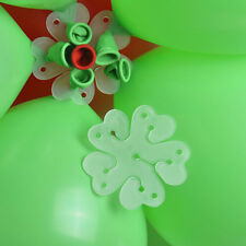 10pcs  Plum flower Balloon Clip Party Xmas Wedding Birthday Tie Decoration