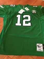 100 Authentic Reggie White Mitchell & Ness Eagles NFL Jersey Mens Size 40