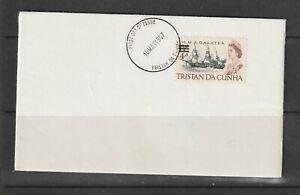 Tristan Da Cunha, FDC 1967 4d Opt on Ship, Palin, Unaddressed, Clean
