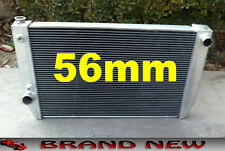 56mm Aluminum Radiator for Ford Falcon V8 / 6 cylinder XC XD XE XF Automatic AT