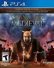 Grand Ages Medieval ~ Limited Special Edition ~ PlayStation 4 ~ Brand New Sealed