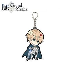 A3 Fate/Grand Order Trading Rubber Strap Keychain Charm 04/SD Saber Gawain Sun