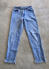 Vintage Levi's 550 Size 9 Womens Relaxed Fit Tapered Leg Medium Wash Red Tab