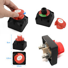 Car SUV RV Marine Boat 12V Battery Isolator Disconnect Rotary Switch Cut On/Off