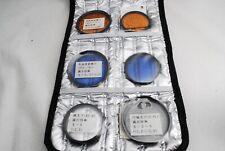Nikon 52mm A12,B12,Circular Polar,ZS-Cyclone,62mm A12,B12, 6 Lens color filter