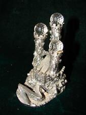 Handcrafted Mythical Castle Of Souls Pewter Statue By Rex Allan Wapw of Britain