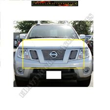 For Nissan FRONTIER 19 2019  Polished Billet Grilles Insert 3pcs overlay bolton