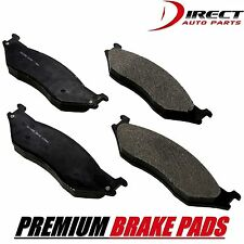 Front Premium Brake Pads For Ford E-550 Ecoline Super Duty 2002 MD777