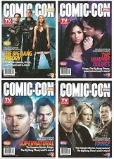 2012 TV Guide Comic Con Special Issue 4 Cover Set Supernatural Vampire Diaries!