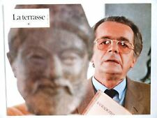 SERGE REGGIANI LA TERRASSE LOBBY CARD