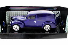 MotorMax 1940 Ford Sedan Delivery Blue 1/24 Diecast cars