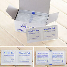 100pcs Disposable Alcohol Pads Alcohol Wipes Sterilization First Aid FadBB