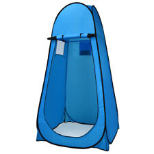 Portable Pop up Camping Fishing Bathing Shower Toilet Changing Tent Room Blue