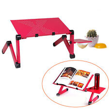 Lazy Folding Angel Laptop Desk Adjustable Computer Table Stand Tray For Bed Sofa
