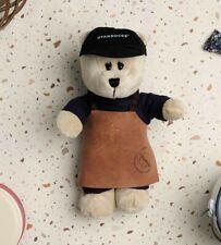 2019 Ltd Starbucks Singapore Reserve Exclusive Bearista Apron Bear Soft Toy