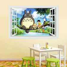 Anime Totoro Art Wall Poster Decoration Boy Girl Wall Sticker Gift 35.4*23.6inch