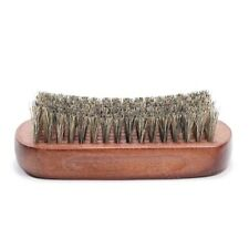 Blue Zoo Men Boar Hair Bristle Beard Brush Shaving Comb Face Massage Handma G5P4