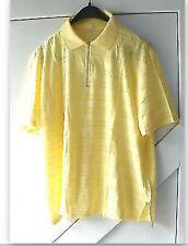 Damenshirt festliches Shirt Baumwolle Viskose Kurzarm gelb Größe 50 neu