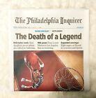 Kobe Bryant Death Lower Merion Hometown Newspaper Philadelphia Inquirer 1/27/20