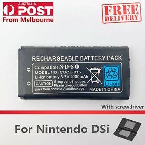 New Rechargable Battery Pack for Nintendo DSi 3.7V 2000mAh