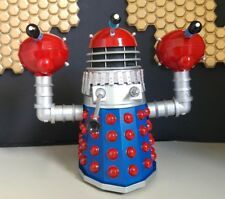 CUSTOM  THREE HEAD BLUE & RED DOOM 5 INCH DALEK
