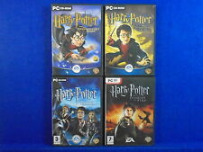 pc HARRY POTTER x4 Philosophers Stone + Chamber Secrets + Prisoner + Goblet Fire