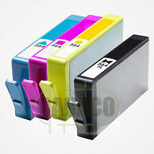 4* PK Ink 564XL replacement for HP 564XL *NEW* With CHIP-Shows Ink Level