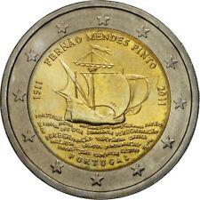 [#460987] Portogallo, 2 Euro, Fernao Mendes Pinto, 2011, SPL, Bi-metallico