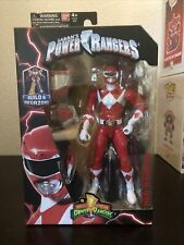"Bandai Power Rangers Legacy MIGHTY MORPHIN RED 6"" Action Figure 2018 MOSC"