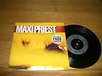 """Maxi Priest-just wanna know.7"""" + poster."""