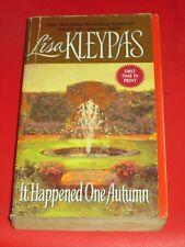 wm* SALE : LISA KLEYPAS ~ IT HAPPENED ONE AUTUMN