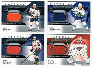 2020-21 SP Game-Used Material Distinctions Jersey Pick From List !!