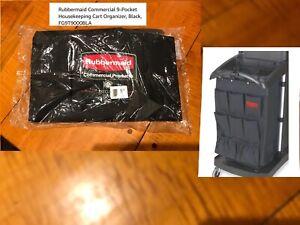 Rubbermaid 9 POCKET EXECUTIVE ORGANIZER FG9T9000 Housekeeping CART CADDY 9T90