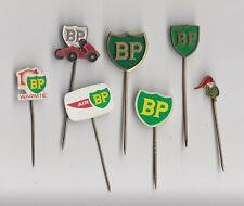Vintage BP Oil Fuel pin badge 1960s Petrol Station British Petroleum Logo